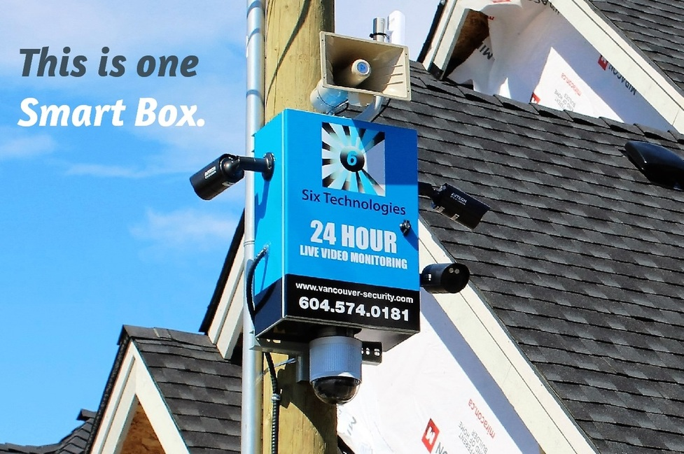 six technologies smart box, construction site security companies in surrey vancouver